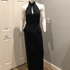 Vintage formal skirt set